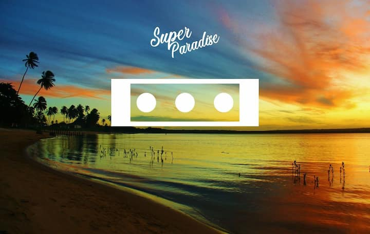 Super Paradise~ Quarto III  Triplo a 5 min do mar~