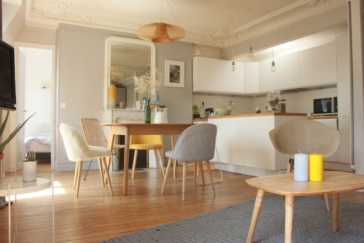 Typical parisien flat really close to Gare de Lyon
