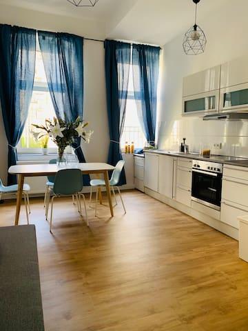 80 qm Apartment, Prenzlauer Berg, Kollwitzkiez
