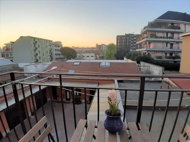 Appartamento panoramico su San siro