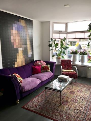 artistic colorfull fam house - Den Helder - Casa