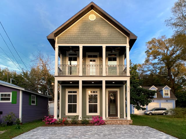 New Construction Cottage | Downtown Pensacola