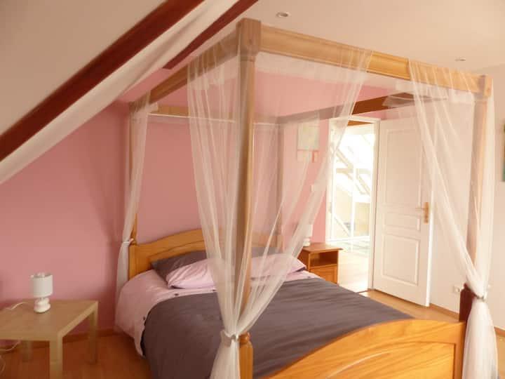 Chambres spacieuses et au calme