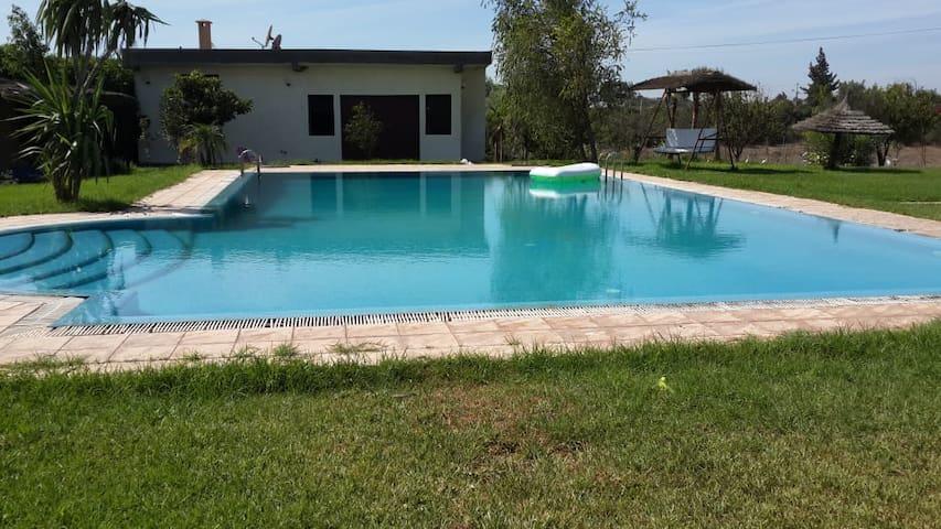 Magnifique villa dans un cadre de rêve