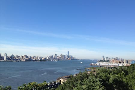 Lovely apt minutes from Manhattan - Weehawken