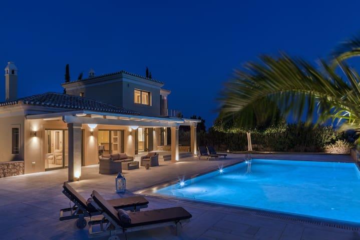 Luxury sea view villa