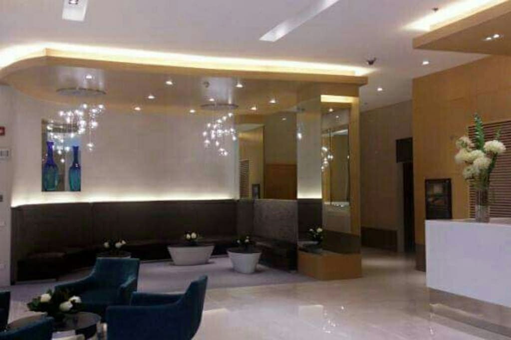 Lobby with wifi ,and front desk area