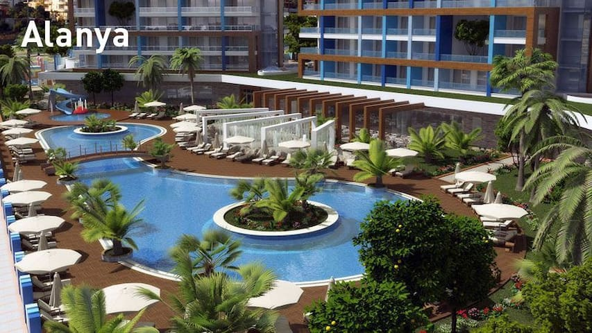 Luxus-Appartement 2-Zi in Alanya/Türkei - Alanya