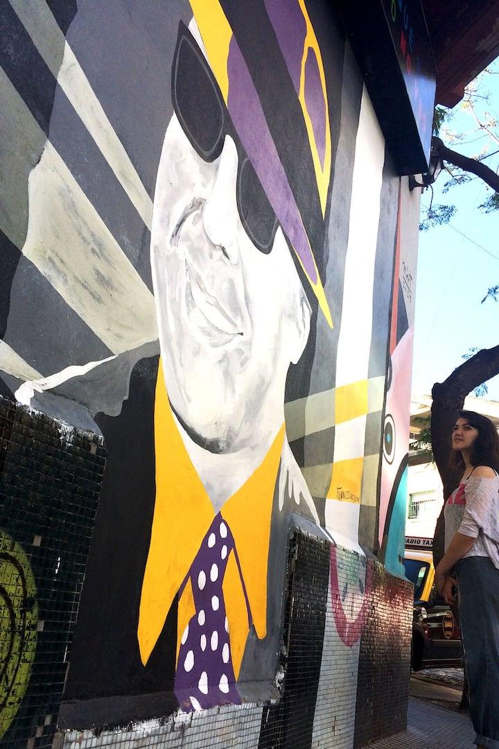 Murales en las calles