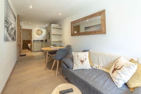 Brand new apartment 2 pax Meribel, close ski slope