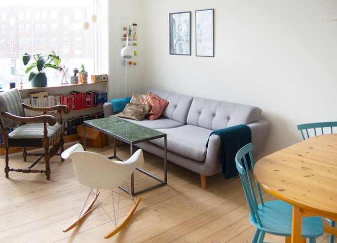 Nice and cosy apartment in Cph. NV