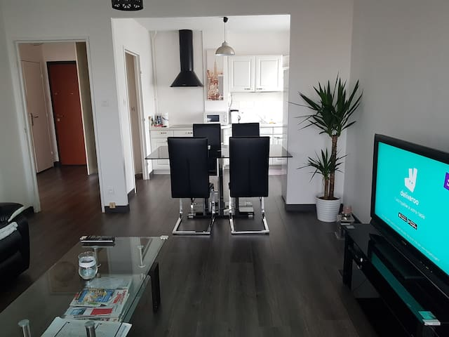 Bel appartement rénové pour visite de strasbourg