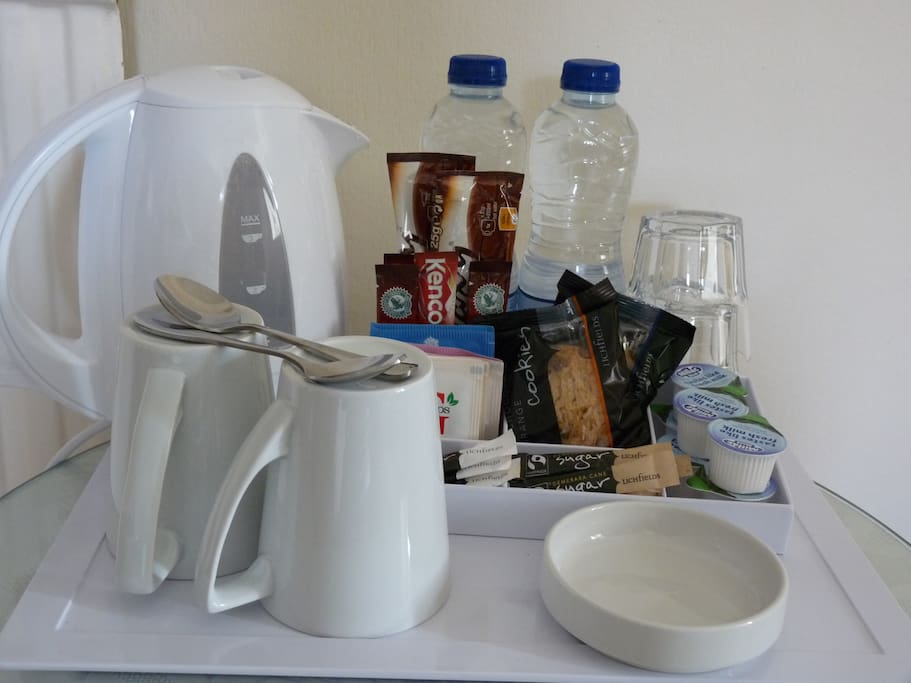 Tea and Coffee supplied.