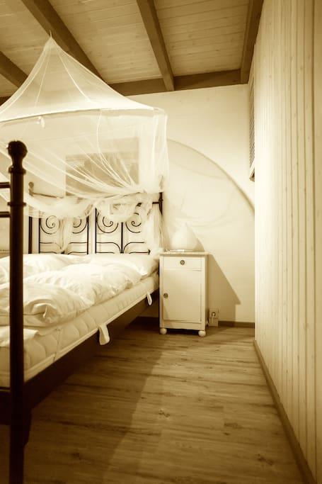 Das eine Schlafzimmer