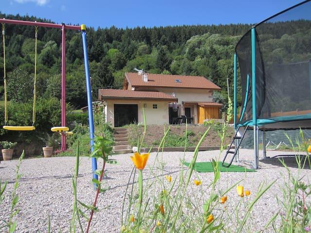 Gîte 3* hautes vosges avec sauna - Rochesson - House