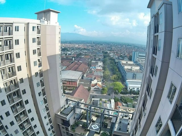 Downtown Apartment with City View - Bandung - Wohnung