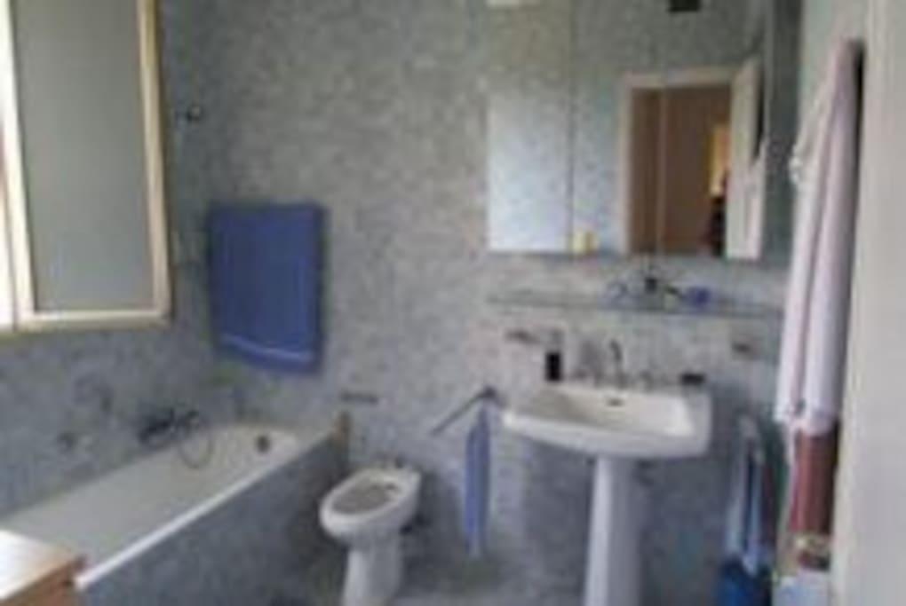 salle de bain indépendante , bain, et wc