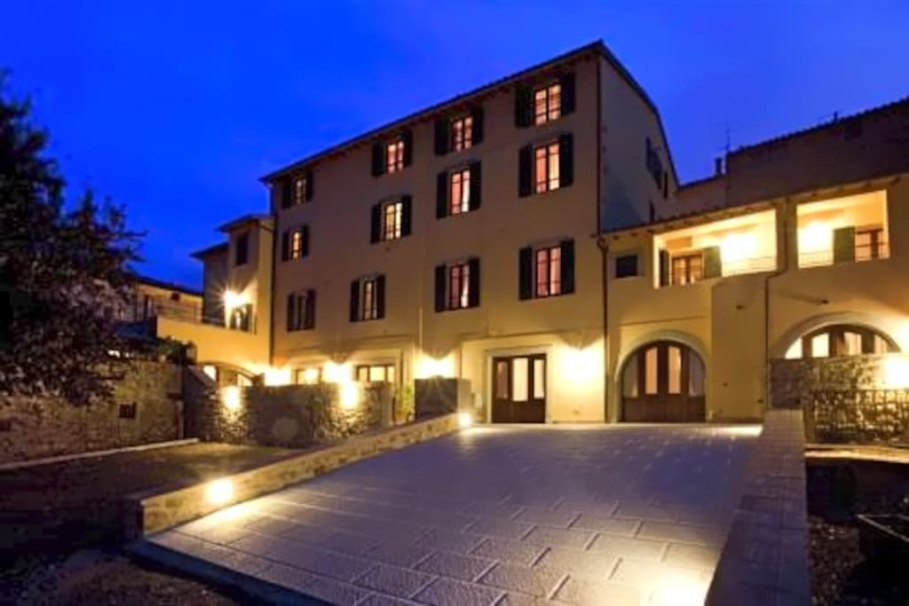 the accommodation in Montalcino
