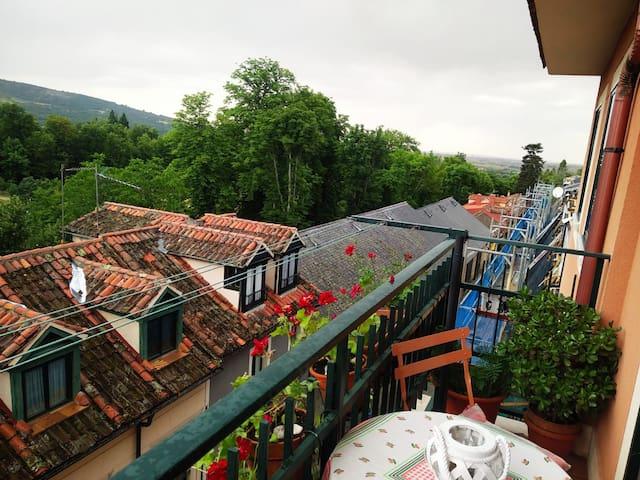 Casa con vistas a los jardines
