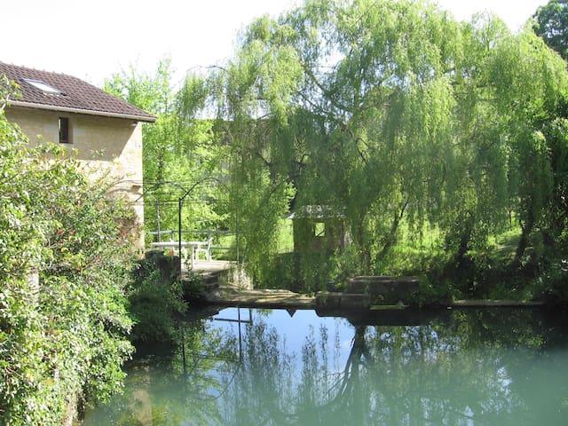 ANCIEN MOULIN EN PERIGORD NOIR  - Allas-les-Mines - Casa