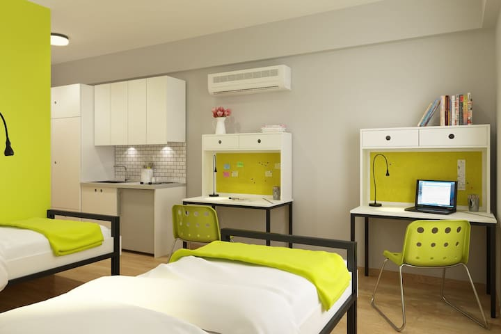 Clean, Cozy and Cheap Private Dorm - Gülbahçe