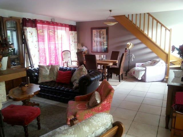 D DAY 2 belles chambres près plages - Éroudeville - House