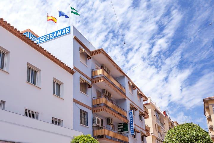 Serramar | Habitación Individual baño privado