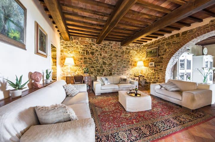 charm house near san gimignano villa in campagna