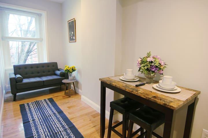 Fresh One Bedroom Apartment in University City
