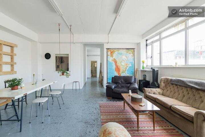 Beautiful Brick Lane Penthouse Loft