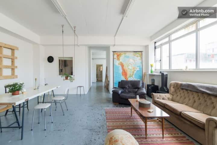 Beautiful Brick Lane Penthouse Loft