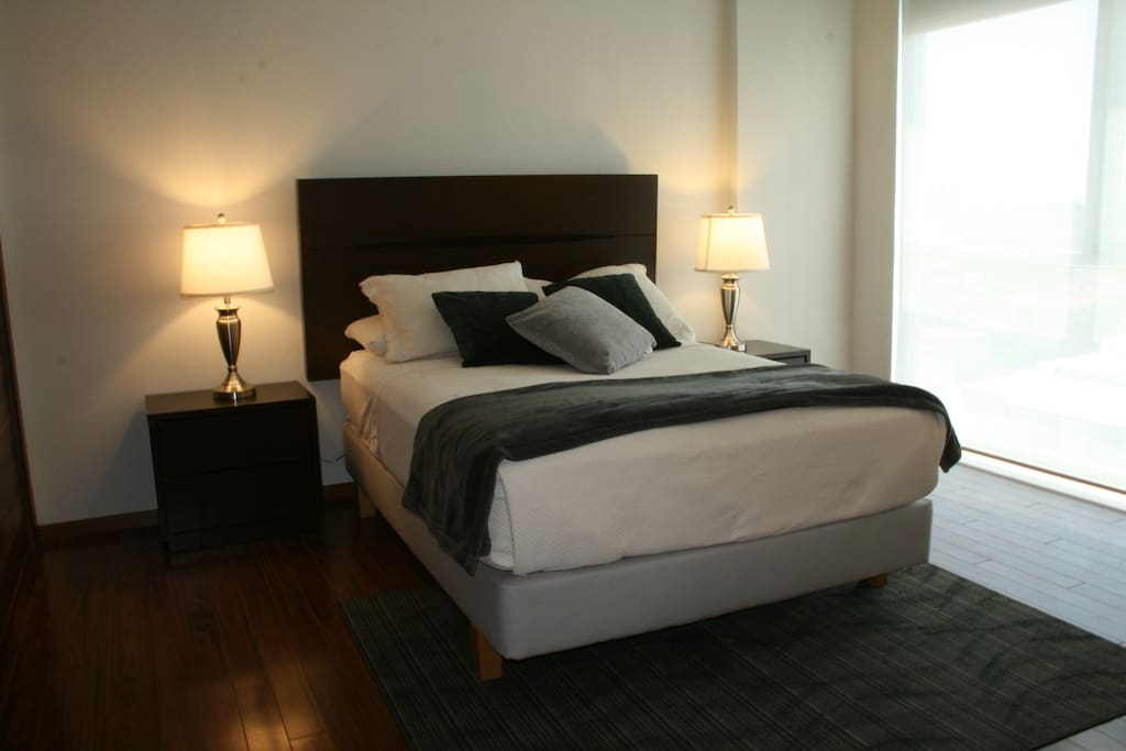 Master Bedroom with Full Air conditioning