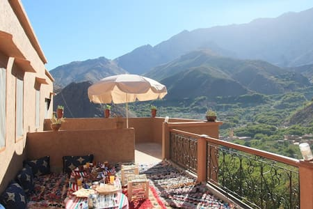Stay with locals in Imlil valley