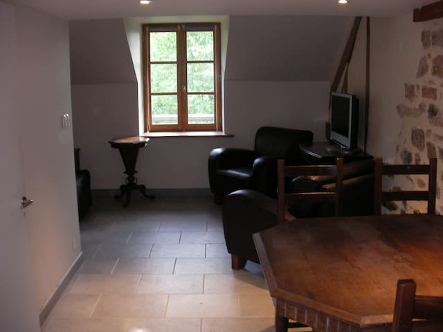 Studio (45m²) en pleine campagne - Meilhards - Apartment