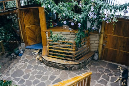 Casa Jaguar..Room for Family or up to four people. - San Marcos La Laguna
