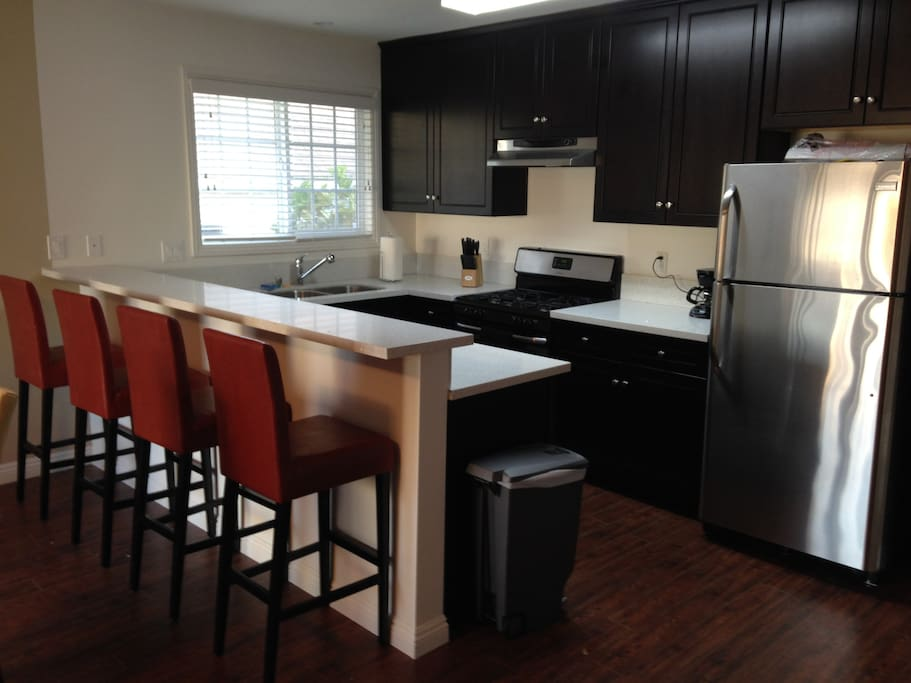 Fully Renovated Kitchen with All New Appliances and a Breakfast Bar!