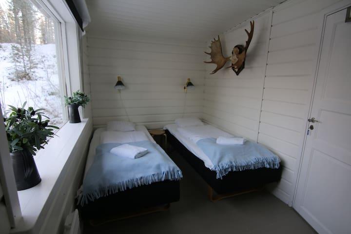 Room 5 - shared house Aurora Camp Main Cabin