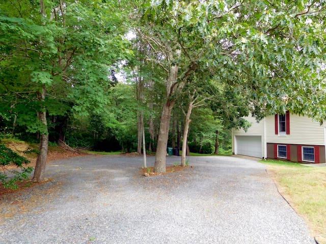Front Entrance Parking Area