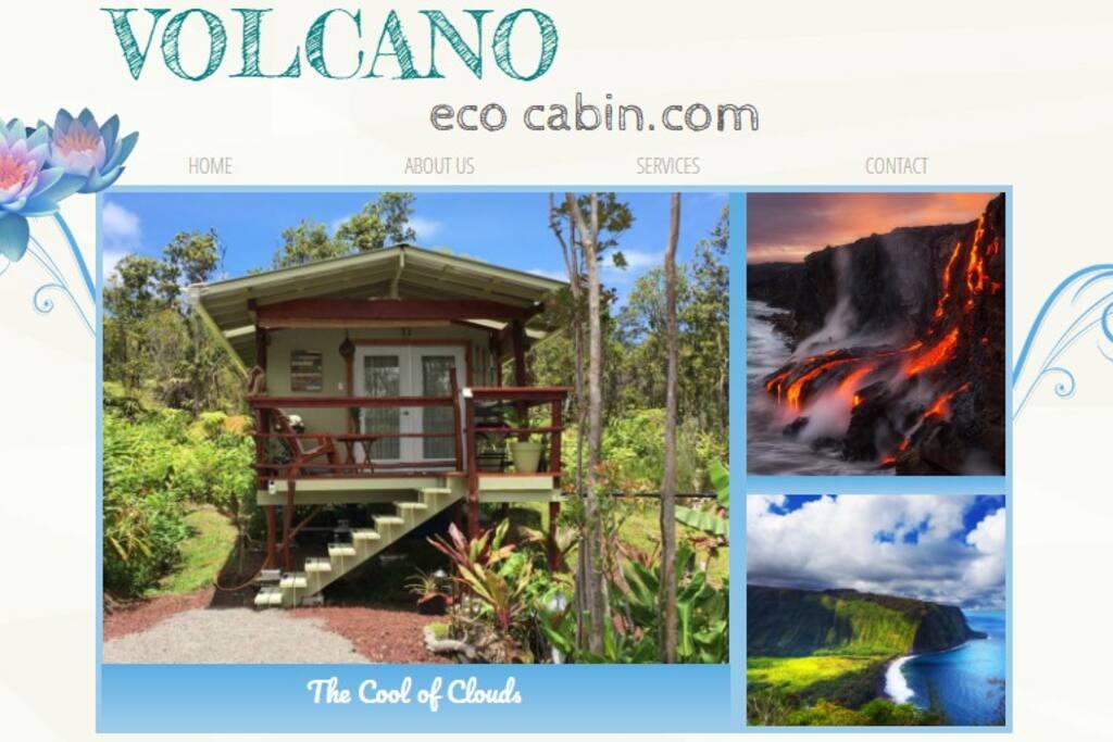 volcanoecocabin.com