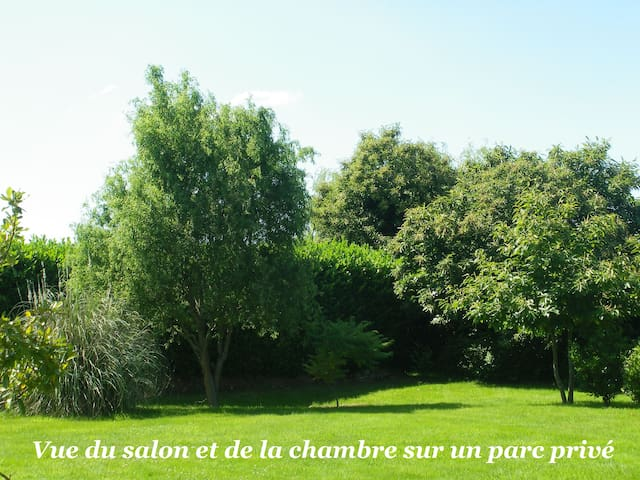 Gîte 3*** avec jardin et parking - La Gouesnière - Flat