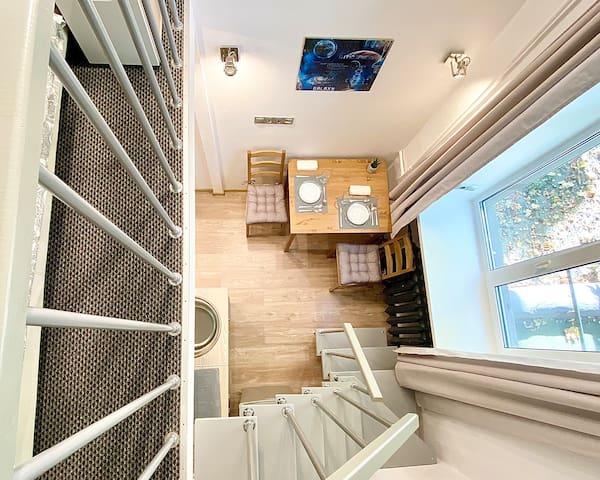 2х уровневые апартаменты Космос 6 на ВДНХ
