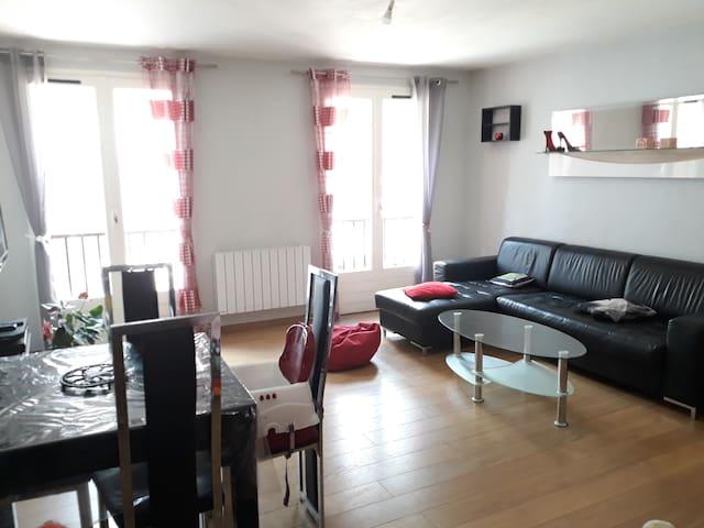 Grand appartement dans une résidence calme