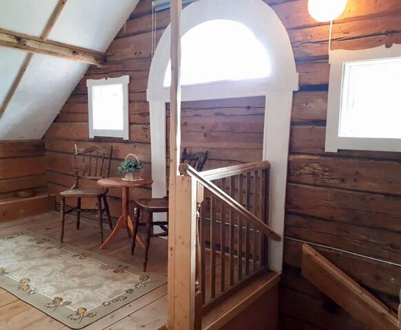 Trappa upp till övervåningen ENG: Staircase