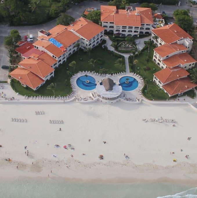 Condominio Xaman Ha, Playa del Carmen, Quintana Roo, Mexico