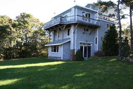 Hilltop 6 BR w/ panoramic bay view - Brewster - Talo