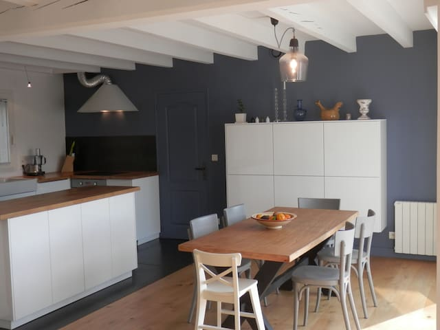 Maison avec belle terrasse, Beaurivage. - Biarritz - Haus