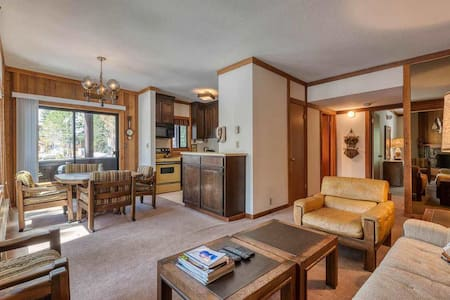 Squaw Valley Condo - IDEAL LOCATION Walk to Lifts!
