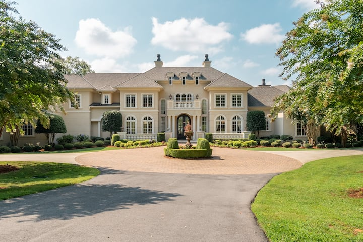 Private 11,000sqft Lake Norman Waterfront Estate