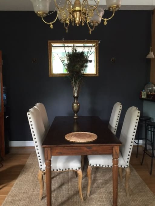 Dining area available to guests.