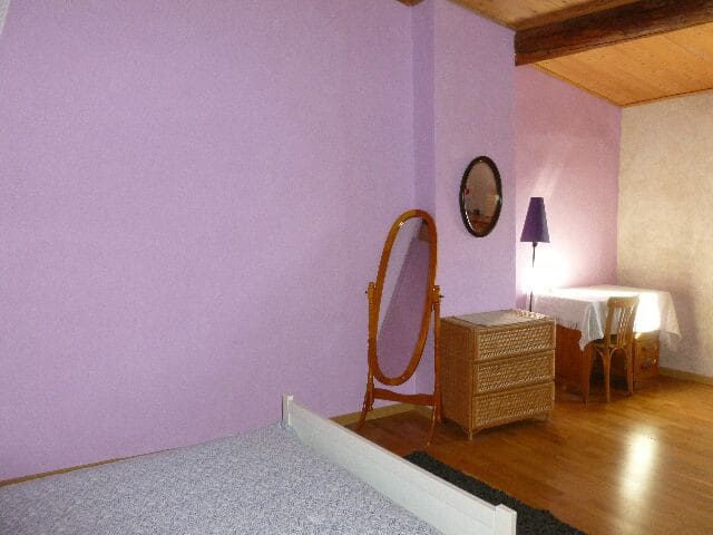chambre salle de bain sur pallier 2 - Caux, Hérault - Bed & Breakfast
